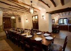 Large comedor dining room and Old Bakery