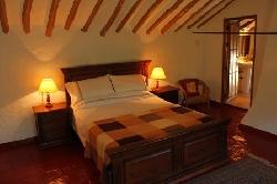 A master bedroom with en-suite bathroom