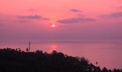 Sun Rise at the villa
