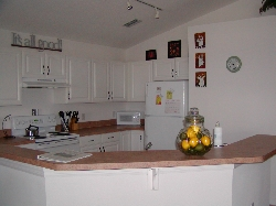Fully Equipped Kitchen And Bar Area