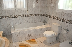 Bathroom -includes shower cubicle