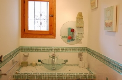 Triple suite  - ensuite wet room (lower)