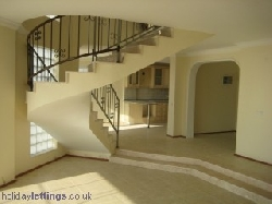 Hallway of Villa Naseem