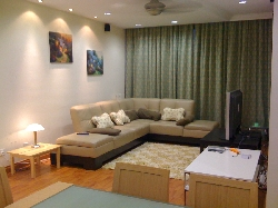 new upgraded lounge. timber floors