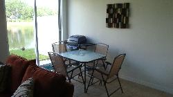 Patio furniture & BBQ