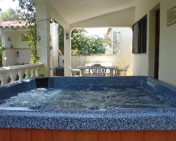 Jacuzzi And Terrace Area