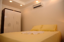 Bedroom one with air condition