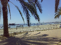 beach at Santiago De La Ribera