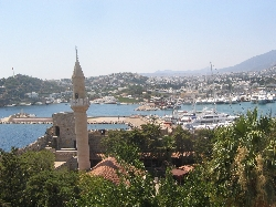 BODRUM FROM THE CASTLE VIEW