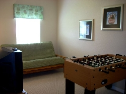 4th bedroom games room