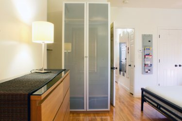 Ample Storage With Drawers And Wardrobe