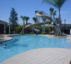 Holiday townhouse to rent in windsor hills orlando kissimmee disney villa florida usa id 3842 for Windsor swimming pool with slides